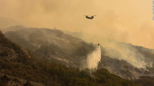 Firefighters make progress on one of California's largest blazes but face challenges with weather ahead