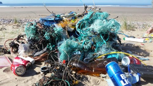 Drones are helping to clean up the world's plastic pollution