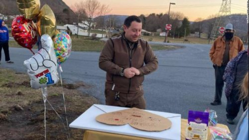 A Pennsylvania town surprised its UPS driver with a $1,000 gift thanking him for his hard work during the pandemic