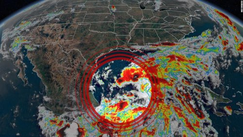 Claudette is likely to form and make landfall in the US this week, delivering close to a foot of rainfall