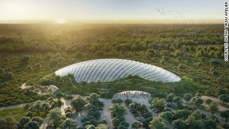 World's largest single-domed tropical greenhouse is coming to France
