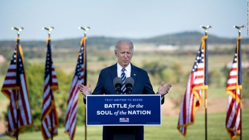 Biden says United States is in a 'dangerous place' and calls for unity in Gettysburg speech - CNN Politics