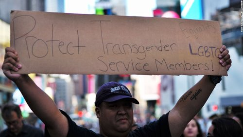 White House announces policy to ban most transgender people from serving in military   CNN Politics