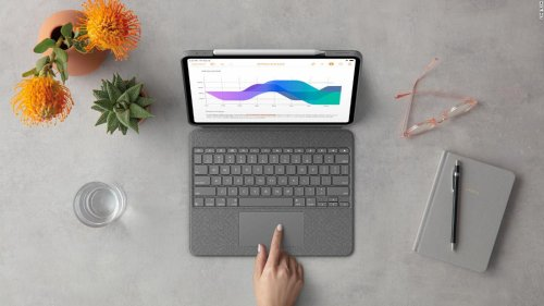Logitech's iPad keyboard is cheaper than Apple's Magic Keyboard — and it has more features | CNN Underscored
