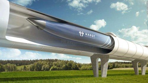 Dutch Hyperloop plan eyes Paris to Amsterdam in 90 minutes