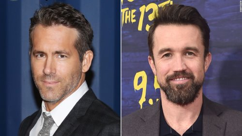 Rob McElhenney and Ryan Reynolds attend first Wrexham match since becoming club's co-owners