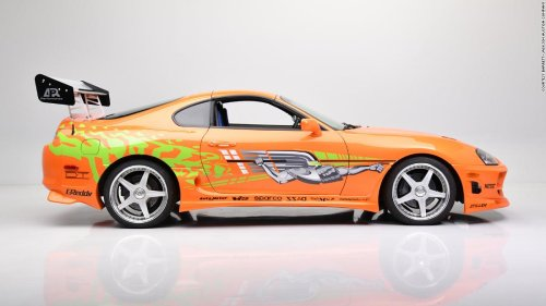 See Paul Walker's 'Fast & Furious' car that just sold for $550,000