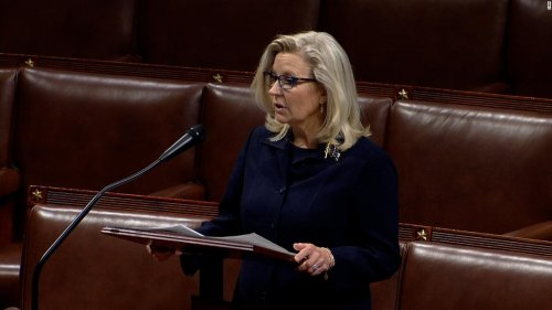 Liz Cheney strikes defiant tone in floor speech on eve of her expected ousting from House GOP leadership