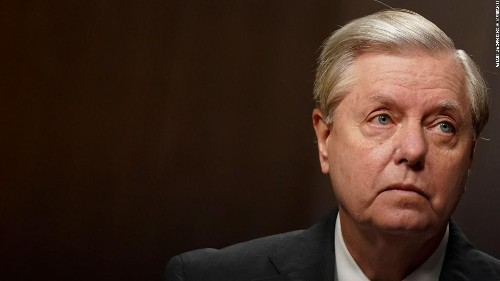 Analysis: Lindsey Graham is playing a very odd role in the Senate impeachment trial
