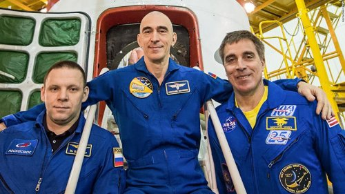 The first space station crew to launch during a pandemic has returned to Earth