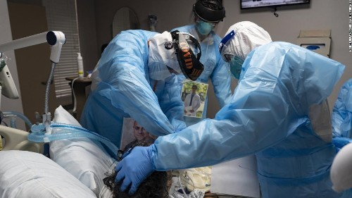 Dr. Sanjay Gupta: The pandemic has become a humanitarian disaster in the United States