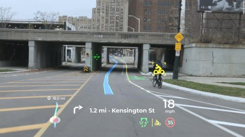 Panasonic's augmented reality display aims to change the way drivers see roads