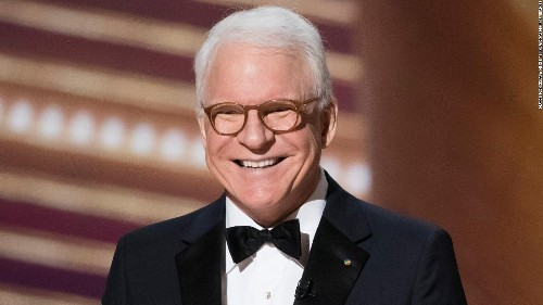 Steve Martin has 'Good news/Bad news' about getting vaccinated
