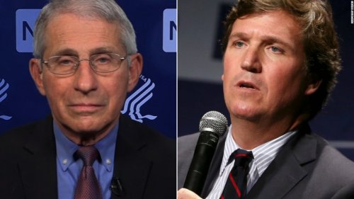 Dr. Fauci on Tucker Carlson's comment: Typical crazy conspiracy theory