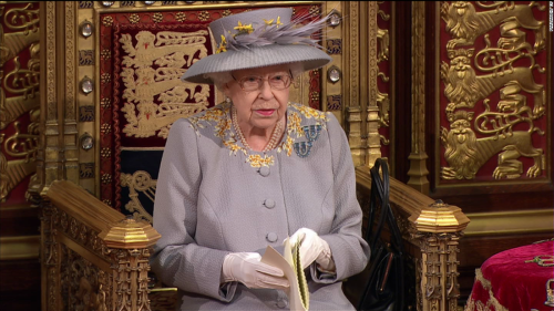 The Queen attends first major event since Philip's death