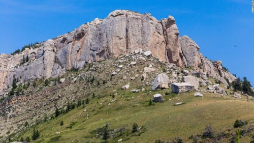 A Wyoming woman died after falling 200 feet off a cliff during a sunrise hike