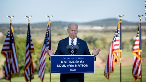 Biden says United States is in a 'dangerous place' and calls for unity in Gettysburg speech
