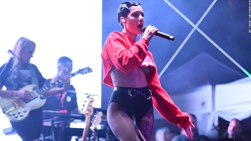 Halsey reveals she's pregnant