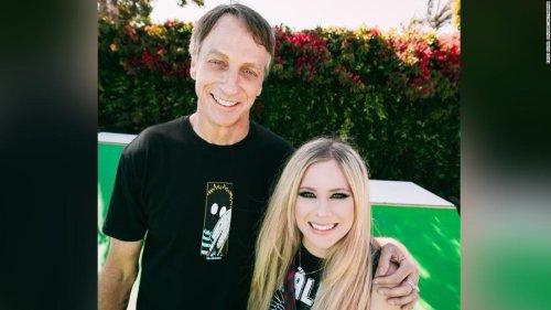 Avril Lavigne partners with real-life 'Sk8er boi' in TikTok debut