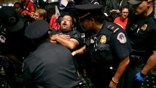 On these 9 days, police in DC arrested more people than they did during the Capitol siege