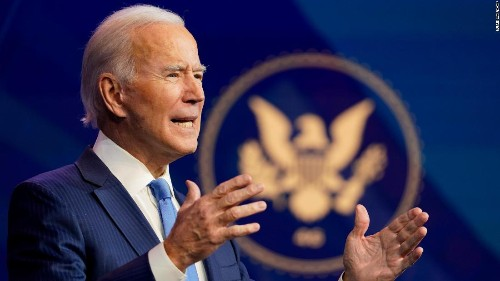 Biden says coronavirus vaccine 'free from political influence' as Trump administration pressures FDA for authorization