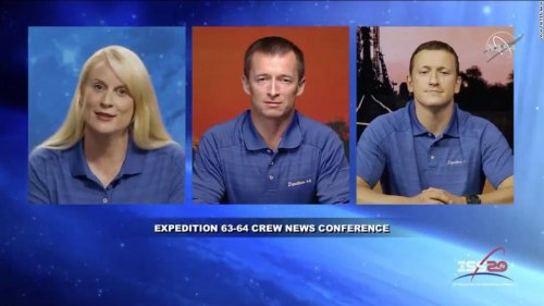 New crew will launch to the International Space Station in October
