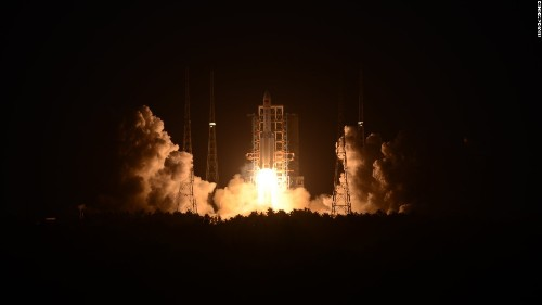Chinese rocket launch fails after liftoff