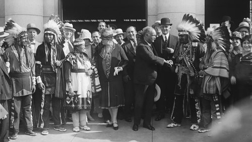 Remembering the Native American who was the first person of color to serve as US vice president