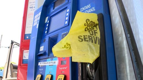 Gas stations in the Southeast run out of gas as people panic buy fuel