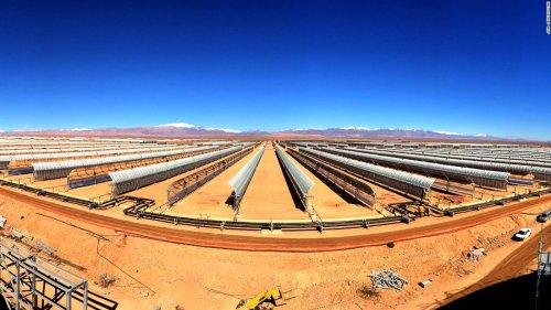 Morocco's megawatt solar plant powers up