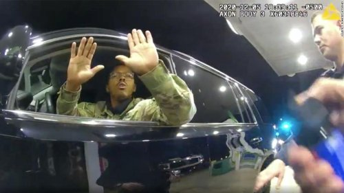 One of the Virginia police officers who pepper-sprayed an Army officer during a traffic stop has been fired