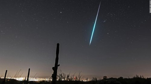 Geminid meteor shower peaks Sunday and Monday