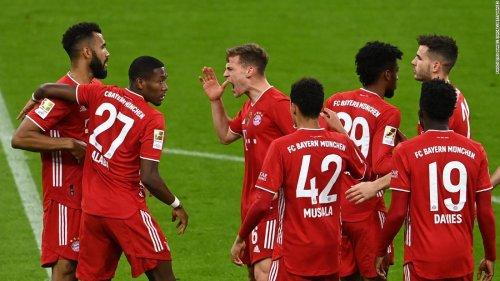 Bayern Munich wins ninth consecutive Bundesliga title