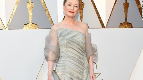 The real 'Phantom Thread': Lesley Manville's dress fitting for the Oscars  - CNN Style