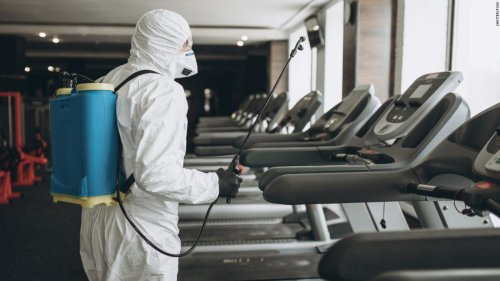 Disinfecting surfaces to prevent Covid often all for show, CDC advises
