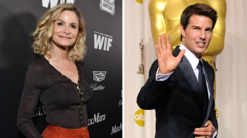 Kyra Sedgwick says she isn't invited back to Tom Cruise's house