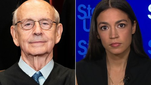 AOC is 'inclined to say yes' as to whether Justice Breyer should retire
