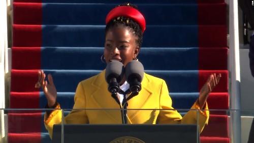 Youth poet laureate recites her stunning poem at Biden inauguration