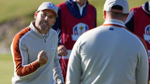 Sergio Garcia becomes player with most matches won in Ryder Cup history