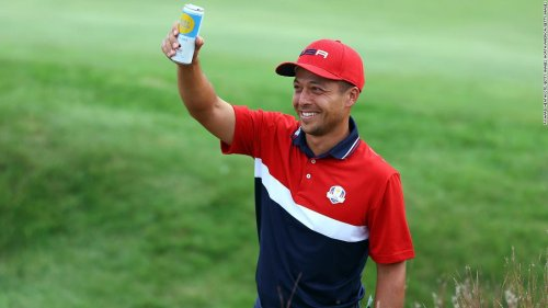 Xander Schauffele reveals his father is 'hogging' his Olympic gold medal