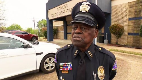 He's a cop. He's 91. And he has no plans to retire