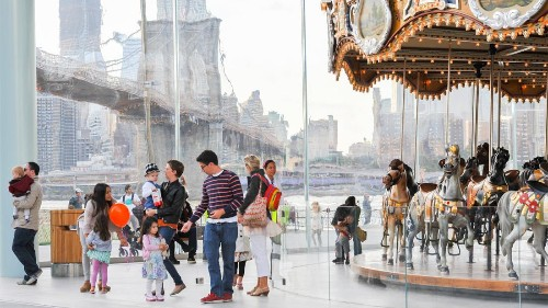 Take a whirl on New York City's carousels