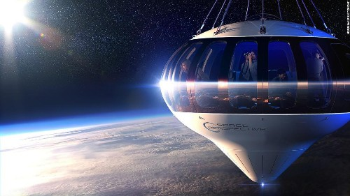 Balloon trips to the edge of space by 2021