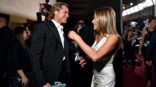Jennifer Aniston says she and Brad Pitt are 'buddies'