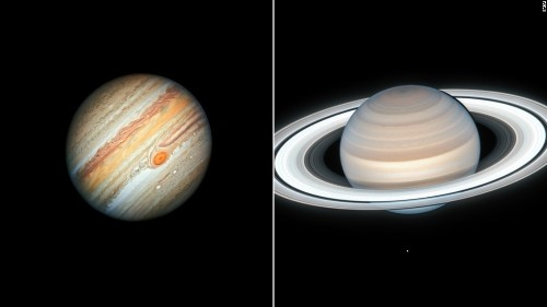 Jupiter and Saturn will look like a double planet later this month