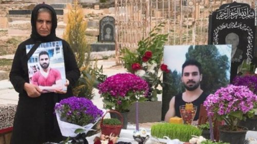 Executed Iranian wrestler still offers 'message of freedom,' says mother