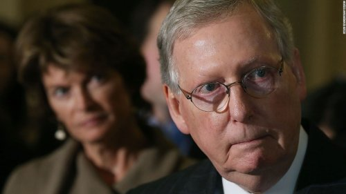McConnell says GOP will back Murkowski's reelection despite Trump threat