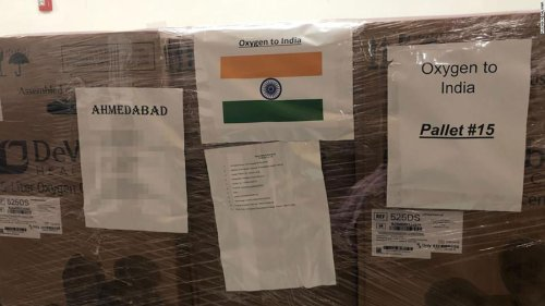 A Philadelphia physician raised $500,000 and is sending oxygen tanks to help India battle its Covid crisis