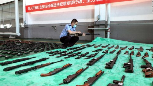 Analysis: China and the US are polar opposites on gun control