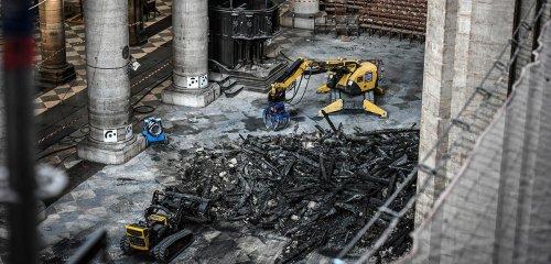 Notre-Dame : enquête au milieu des décombres